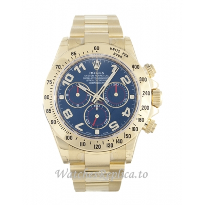 Rolex Daytona Blue Dial 116528-40 MM