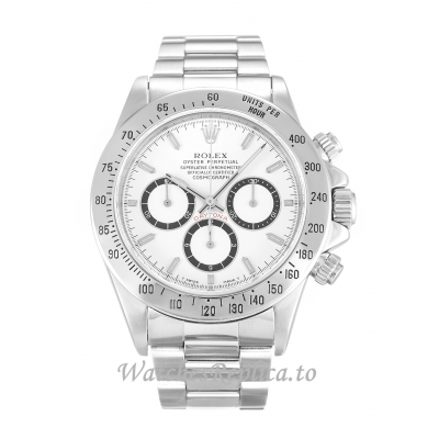 Rolex Daytona White Dial 16520-40 MM