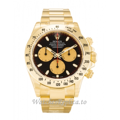 Rolex Daytona Black Dial 116528-40 MM