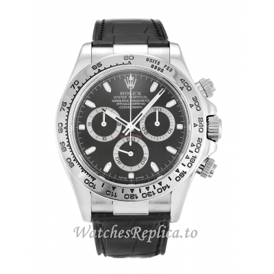 Rolex Daytona Black Dial 116519-39 MM