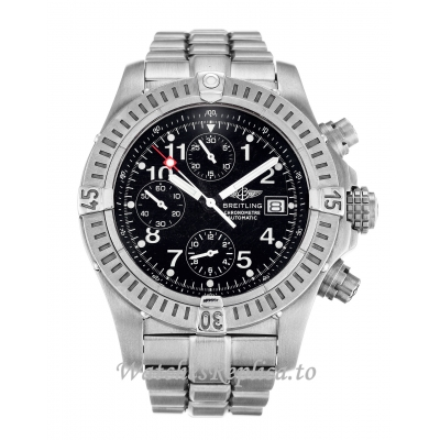 Breitling Chrono Avenger Black Dial E13360 44 MM