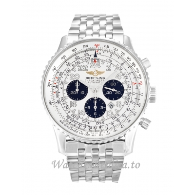 Breitling Cosmonaute White Dial A22322 42 MM