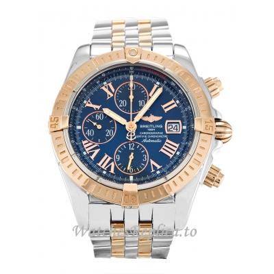 Breitling Chronomat Evolution Blue Dial C13356 44 MM
