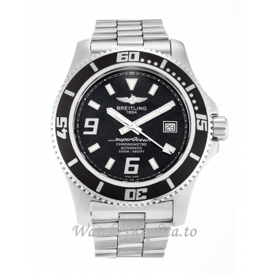 Breitling SuperOcean Black Dial A17391 44 MM