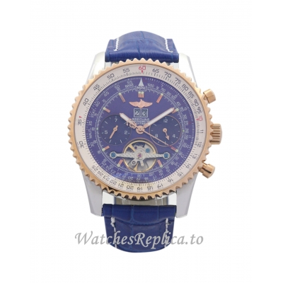 Breitling Navitimer World Blue Dial A24322-46 MM