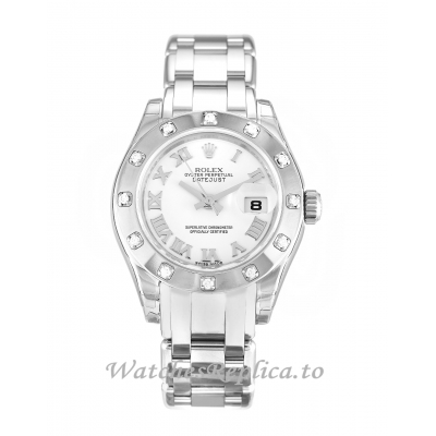 Rolex Pearlmaster White Dial 80319-29 MM