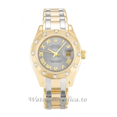 Rolex Pearlmaster Rhodium Dial 80318-28 MM