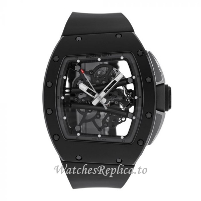 Richard Mille Replica Watch Grey Edition TZP Ceramic 50MM Watch RM61-01