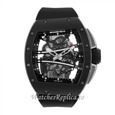 Richard Mille Replica Watch Black Edition TZP Ceramic 50MM Watch RM61-01