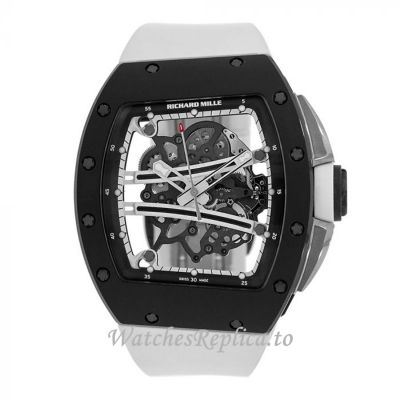 Richard Mille Yohan Blake Monochrome Edition Carbon Ceramic Replica Watch 50MM