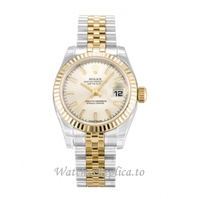 Rolex Datejust Lady Silver Dial 179173 26MM