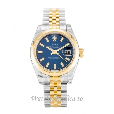 Rolex Datejust Lady Blue Dial 179163 26MM