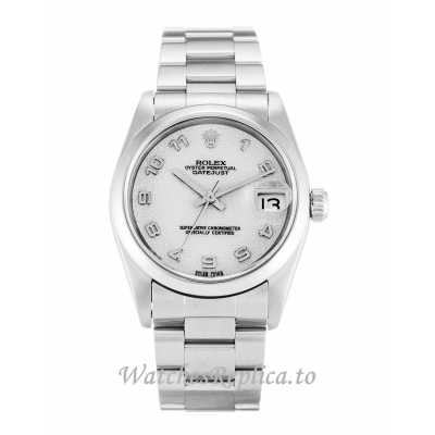 Rolex Mid Size Datejust Ivory Jubilee Dial 68240 30MM