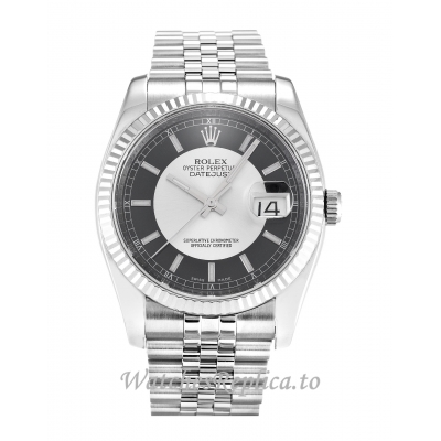 Rolex Datejust Black Dial 116234 36MM