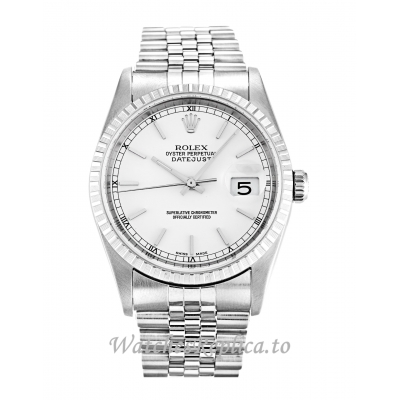 Rolex Datejust White Dial 16220 36MM
