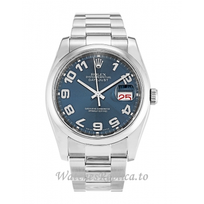 Rolex Datejust Blue Concentric Dial 116200 36MM