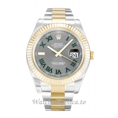 Rolex Datejust II Grey Dial 116333-41 MM