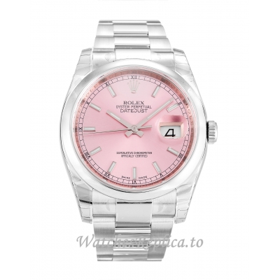 Rolex Datejust Pink Dial 116200 36MM