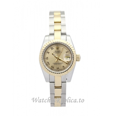 Rolex Datejust Lady Yellow Gold Dial 26MM