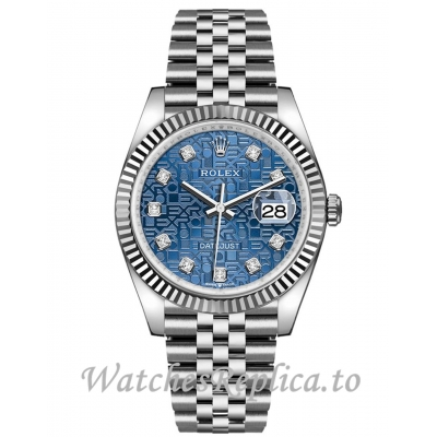 Rolex Datejust Replica 126234-0011 Blue Jubilee Dial 36mm