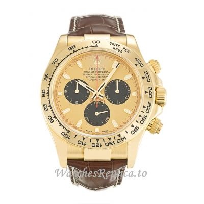 Rolex Daytona Gold Dial 116518 40MM