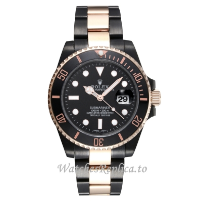 Rolex Submariner Black Dial 40MM Replica Watch