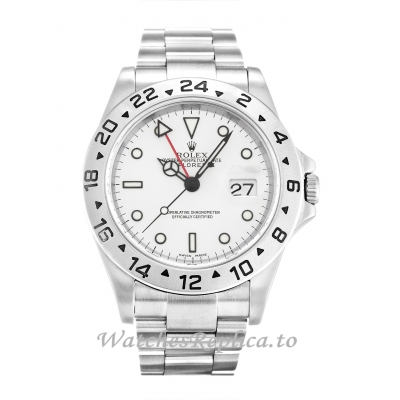 Rolex Explorer II White Dial 16570-40 MM