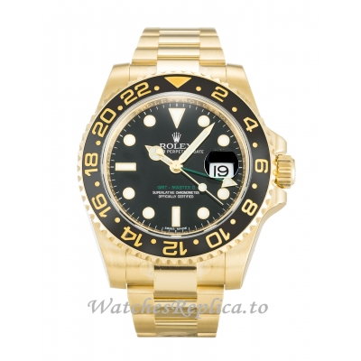 Rolex GMT Master II Black Dial 116718 LN-40 MM