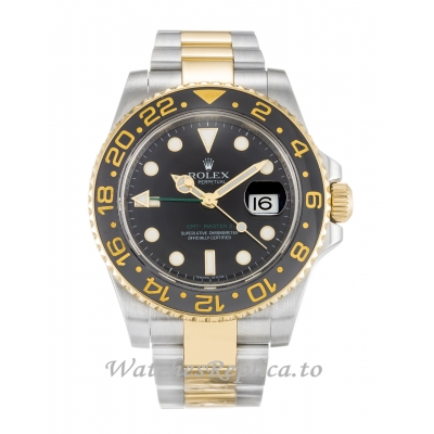 Rolex GMT Master II Black Dial 116713 LN-40 MM