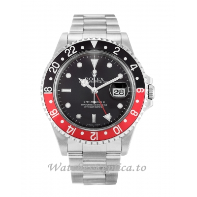 Rolex GMT Master II Black Dial 16710-40 MM