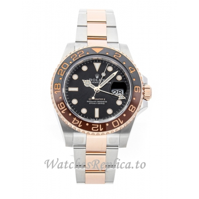 Rolex GMT Master II Replica Black Dial 126711CHNR 40mm