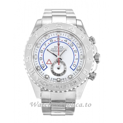 Rolex Yacht-Master II White Dial 116689-44 MM