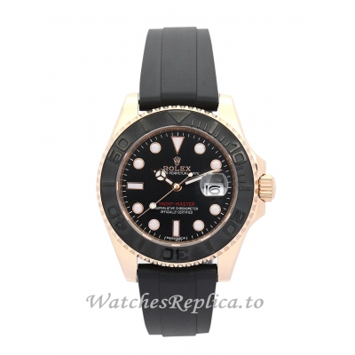 Rolex Yacht-Master Black Dial-35 MM