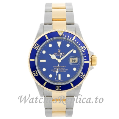 Rolex Submariner Replica 16613 40MM Mens Watch