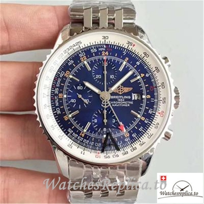 Swiss Breitling Navitimer Montbrillant Datora Replica A21330 Silver Strap 43MM