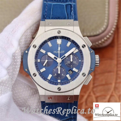 Swiss Hublot Big Bang Classic Fusion Chronograph Replica 301.SX.7170.LR Blue Strap 44MM
