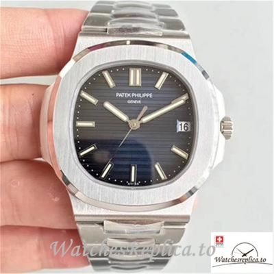 Swiss Patek Philippe Nautilus Replica 5711/1A-010 Stick Markers 40MM