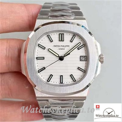 Swiss Patek Philippe Nautilus Replica 5711/1A-011 Stick Markers 40MM