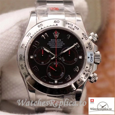 Swiss Rolex Daytona Cosmograph Replica 116509-78599 001 Gray Strap 40MM