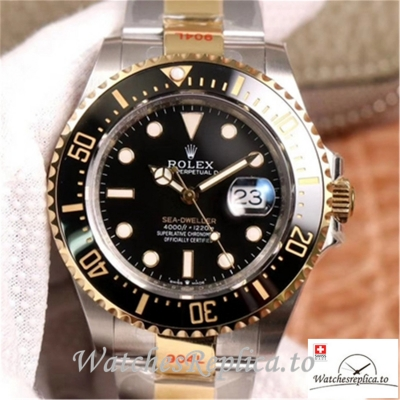 Swiss Rolex Sea Dweller Replica M126603 Black Bezel 43MM