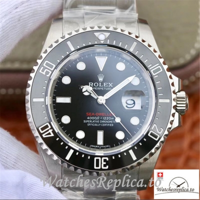 Swiss Rolex Sea-Dweller Replica 126600 Black Bezel 43MM