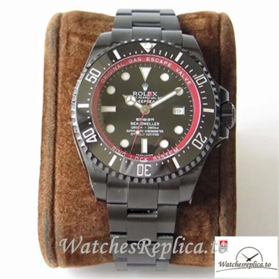 Swiss Rolex Sea-Dweller Bamford Replica 116660 001 Black Bezel 44MM