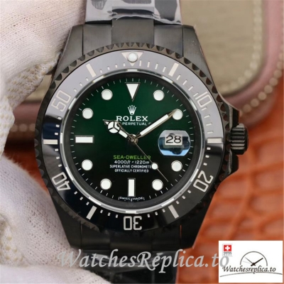 Swiss Rolex Sea-Dweller Deepsea Replica 11666001 Black Bezel 44MM