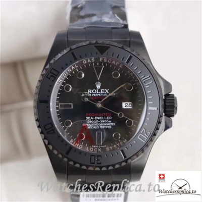 Swiss Rolex Sea Dweller Replica 116660 002 Black Ceramic Bezel 44MM
