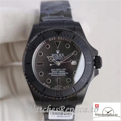 Swiss Rolex Sea Dweller Replica 116660 003 Black Ceramic Bezel 44MM