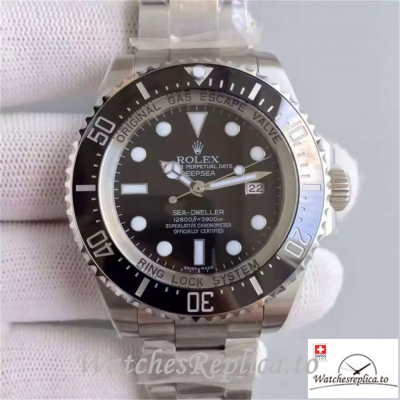 Swiss Rolex Sea Dweller Replica 116660 005 Black Ceramic Bezel 44MM