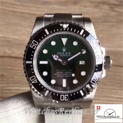 Swiss Rolex Sea Dweller Replica 126600 001 Black Ceramic Bezel 43MM