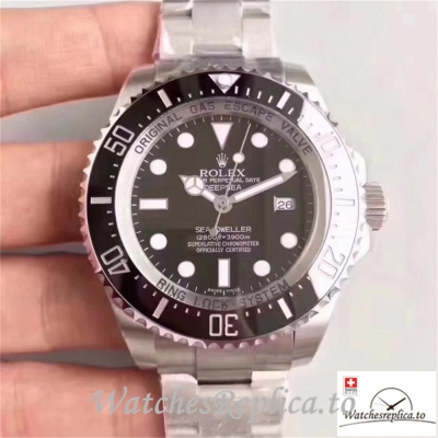 Swiss Rolex Sea Dweller Replica 126660 001 Black Ceramic Bezel 44MM