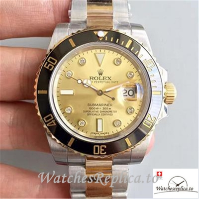 Swiss Rolex Submariner Date Replica 116613LN 001 Black Bezel 40MM