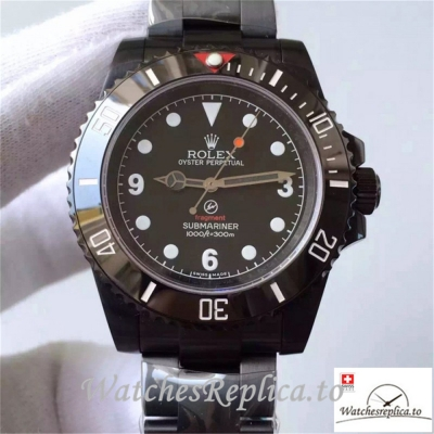 Swiss Rolex Submariner Replica 114060 004 PVD Strap 40MM